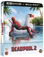 Deadpool 2 Steelbook 4K UHD + 2 Blu Ray (Lenticular Magnet)