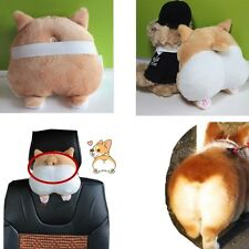 Travel Soft 3D Pet Dog Buttocks Car Headrest Seat Neck Cushion Universal 9inch