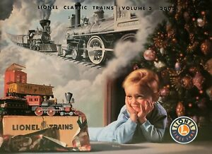 Vintage Lionel CHRISTMAS Train Catalog 2002 Volume 2 BRAND NEW-MINT