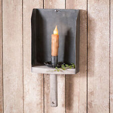 Farmhouse Scoop new hanging candle wall sconce w/candlestick