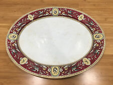Antique Ridgway Sparks Ridgways Chelsea Pattern Large Oval Tray / Platter