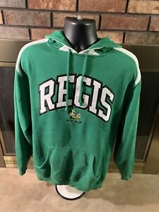 Vintage Basketball Regis Ramblers High School Football Sweatshirt Hooded Mens S