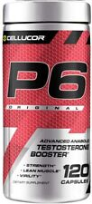 Cellucor P6 Original Advanced Anabolic Testosterone Muscle Booster 120 Capsules