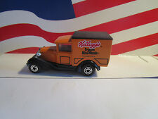 MATCHBOX MODEL A FORD DELIVERY TRUCK KELLOGG'S FROSTED MINI WHEATS LOOSE