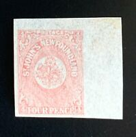 Canada Newfoundland Stamps. SC 18. 1861. MH. **COMBINED SHIPPING**