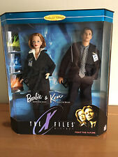 Collector Edition The X Files Giftset Barbie & Ken