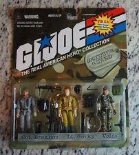 Oktober Guard 3 Pack G.I. Joe Cobra 1998 The Real American Hero Collection VOLGA