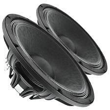"""Pair Faital Pro 15HP1020 8ohm Neodymium 15"""" Woofer 1400W Replacement Speaker"""
