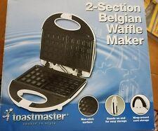 Toastmaster 2 Section Belgian Waffle Maker