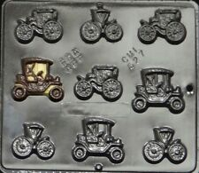 Antique Cars Small Chocolate Candy Mold  527 NEW