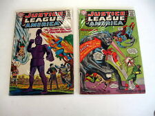 *Justice League Of America #34 #36 #41 And #46 Guide $82 1st Sa Sandman