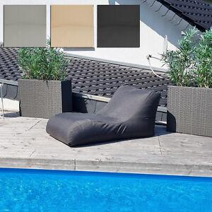 Loungeliege Madeira Loungesessel Sitzsack Sitzkissen Sessel Liege Outdoor