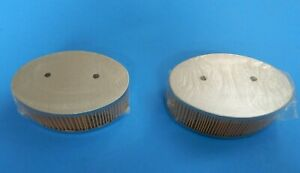 New Pair of Stock Type Uprated Paper Element Air Filters for Triumph TR4 TR4A
