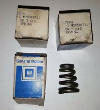 Three GM 25501711 OEM Exhaust Pipe Manifold Springs 95-99 Chevy Buick Olds NOS