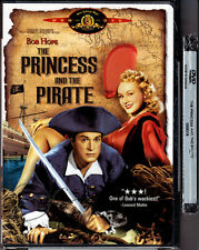 DVD Bob Hope PRINCESS AND THE PIRATE Virginia Mayo Technicolor MGM FS R1 OOP NEW