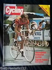 CYCLING - INTERNATIONAL FESTIVAL OF CYCLING - JULY 9 1983