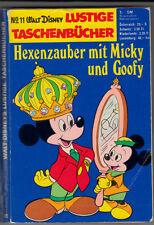 LTB 11 (3) schlechter ZUSTAND 1.Auflage 1970 Lustiges Taschenbuch Erstauflage