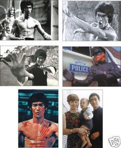 Bruce Lee Kung Fu Legend POSTCARD Set