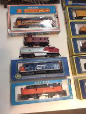 HO Train Locomotives, Life-Like, Associate Hobby Mfgs