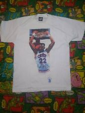 Vintage 1980s NBA Cleveland Cavaliers Larry Nance Highlights Shirt Sz M RARE EUC