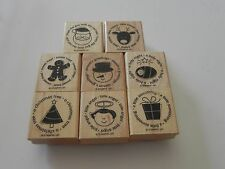 Stampin Up Deer Friend Stamp set of 8 Holiday Christmas