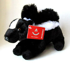 "Aurora Mini Flopsie LIL'SACHET Skunk 8"" Stuffed Animal New 31189"