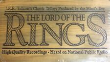 Vtg Rare The Lord of the Rings Trilogy 12 One Hour Cassette Tape Wood Box Set