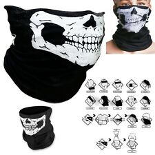 3 X Skeleton Skull Ski Face Mask Cycling Motorcycle Mask Bandana COD Ghost