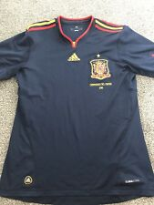 Spain Away Shirt 2010/11 World Champions Medium Rare