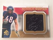 Rob Gronkowski 2010 SP Authentic GOLD RC Auto/Jersey #22/25 FREE SHIP