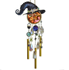 Kirks Folly Practical Magic Seaview Water Moon Witch Wind Chime (Multi Color)