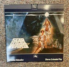 STAR WARS 1977 ORIGINAL LASERDISC LD - GEORGE LUCAS VG+