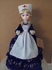 "Bradley Doll ""Florence Nightingale"" Famous Women of the World Nurse"