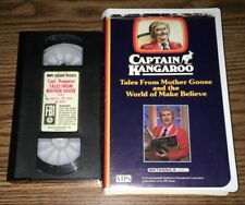 CAPTAIN KANGAROO TALES FROM MOTHER GOOSE & WORLD OF MAKE BELIEVE VHS HOME VIDEO