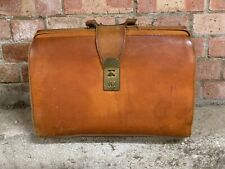 Vintage Leather Briefcase Or Doctors Style Bag
