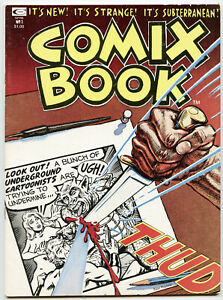COMIX BOOK Vol.1 #1 - MARVEL & CURTIS MAGAZINE - 1974  NM 9.2 to 9.4