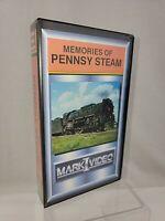 Train Video Memories of Pennsy Steam Pennsylvania Railroad RR VHS