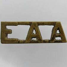Original East African Artillery Regiment EAA Africa Shoulder Title Badge - EW49
