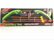 King Sport Light Up Archery Shooting Set Real Sport Game Kids Super Play Action