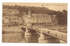 dinant , le pont et hôtel des postes