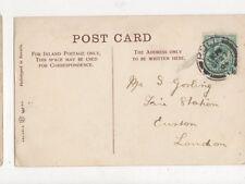Mr S Gosling Fire Station Euston London 1904 483a