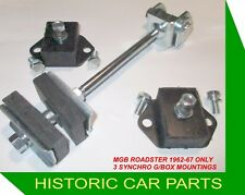 GEARBOX MOUNTING KIT for MGB Roadster 3 SYNCHRO G/BOX MODELS - 1962-67