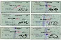 Allan Bud Selig signed autographed check! Brewers! RARE! Guaranteed Authentic!