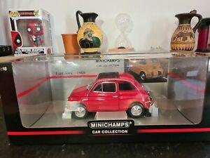 Rare 1/18 Minichamps Fiat 500L 1968