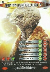 DOCTOR WHO<>BATTLES IN TIME TRADING CARD<>HOP PYLEEN BROTHER 2<>CARD # 109