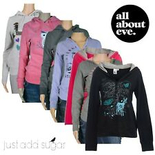 Womens All About Eve Hoodie Warm & Light Weight Graphic Pullover Fashion Jumper