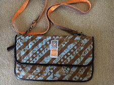 Ergo Baby Umbra Diaper Bag Canvas Leather Small Purse Crossbody Bag