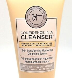 IT COSMETICS Confidence In A Cleanser Hydrating Serum Travel Size 1.7 oz / 50 mL