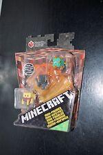 MATTEL MINECRAFT Netherrack Series 3 Pack Mini-Figure BLAZE WITHER GUARDIAN MOC