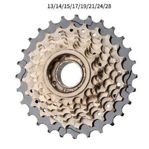 MTB Bike 8 Speed 13-28T Freewheel For Shimano Road Bicycle Thread Sprocket